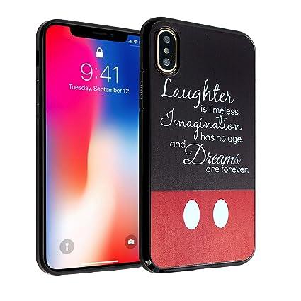 Amazon Com Iphone Xr Case Disney Dream Quotes Imagitouch Anti