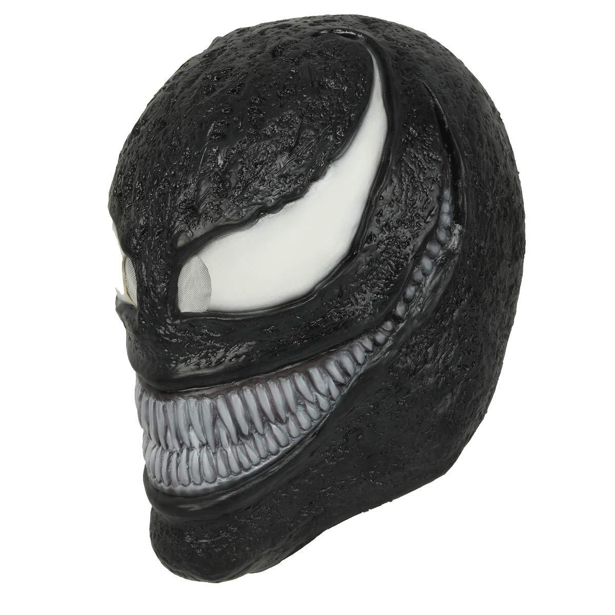 Wellgift Halloween Maske Erwachsene Cosplay Kostüm Film Unisex Horror Helm Latex Vollkopf Masken Fancy Dress Costume Ware Zubehör