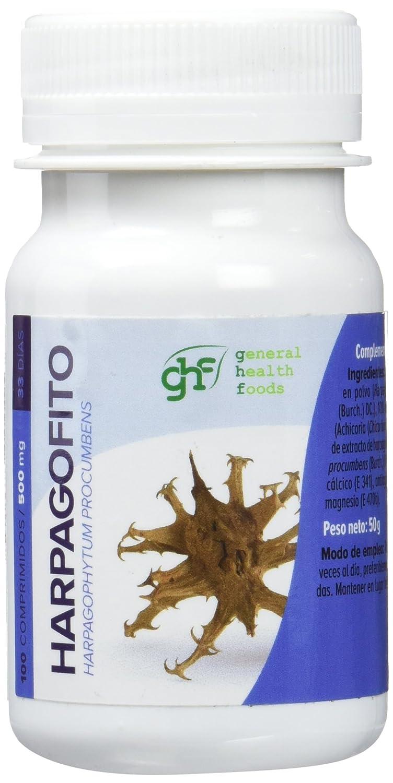 GHF - GHF Harpagofito 100 comprimidos 500 mg: Amazon.es: Salud y cuidado personal