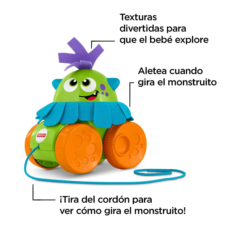Fisher-Price Monstruito gira gira, juguete para bebé +1 año (Mattel FHG01): Amazon.es: Juguetes y juegos