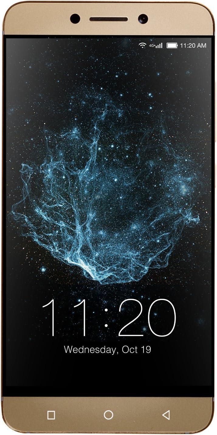 "LeEco   Le S3 Unlocked Dual-SIM Smartphone; 5.5"" Display, 16MP Camera, 4K Video, 32GB Storage, 3GB RAM - Gold (U.S. Warranty)"