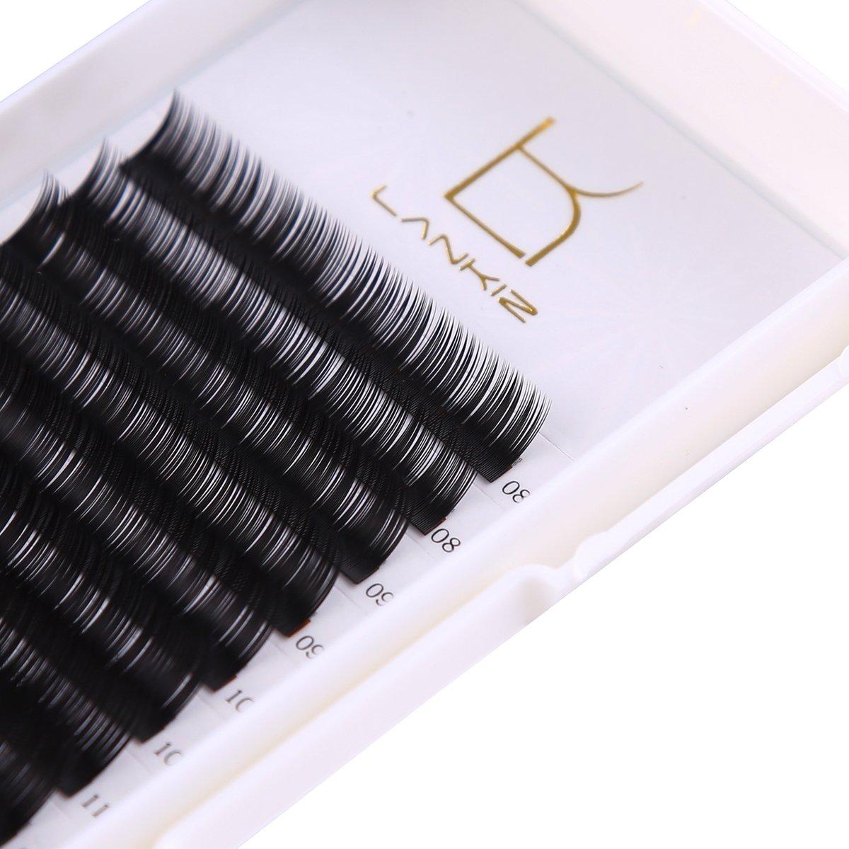 Amazon Lk Lankiz Individual Eyelashes C Curl Eyelash Extension