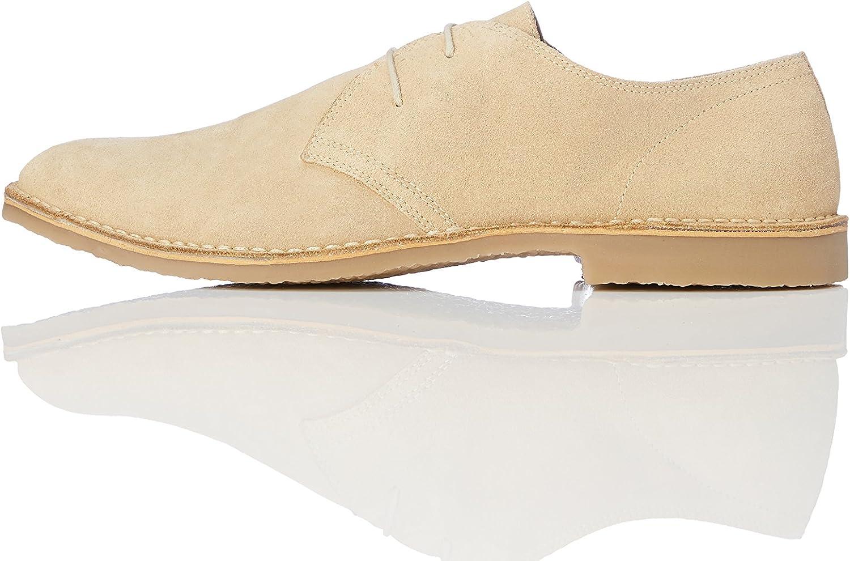 TALLA 45 EU. Marca Amazon - find. Zapatos de Serraje con Cordones Hombre