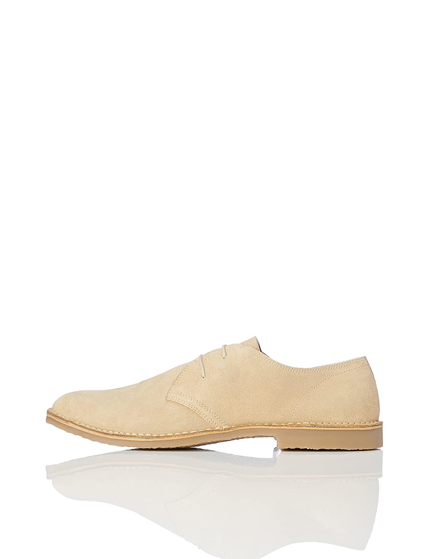 TALLA 40 EU. find. Zapatos de Serraje con Cordones Hombre