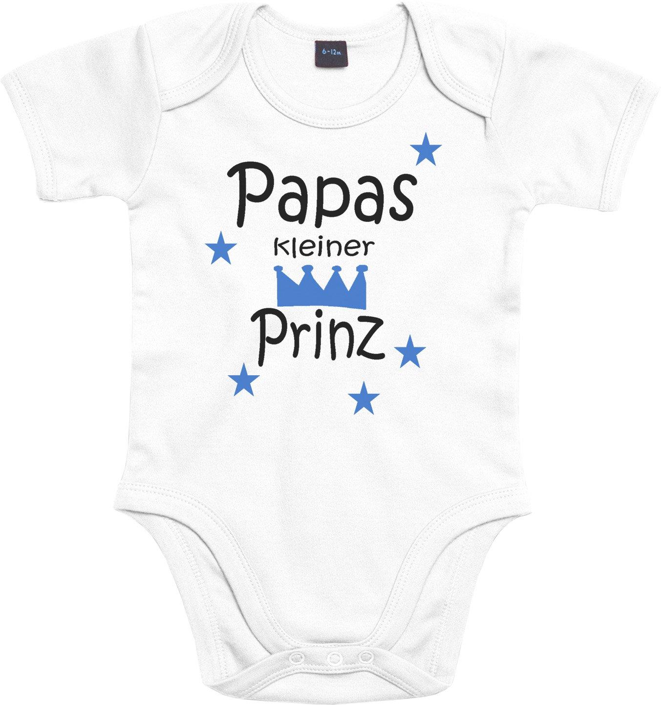 WarmherzIch Baby Body Mamas kleine Prinzessin Strampler liebevoll bedruckt K/önigin Chef ein und Alles Queen