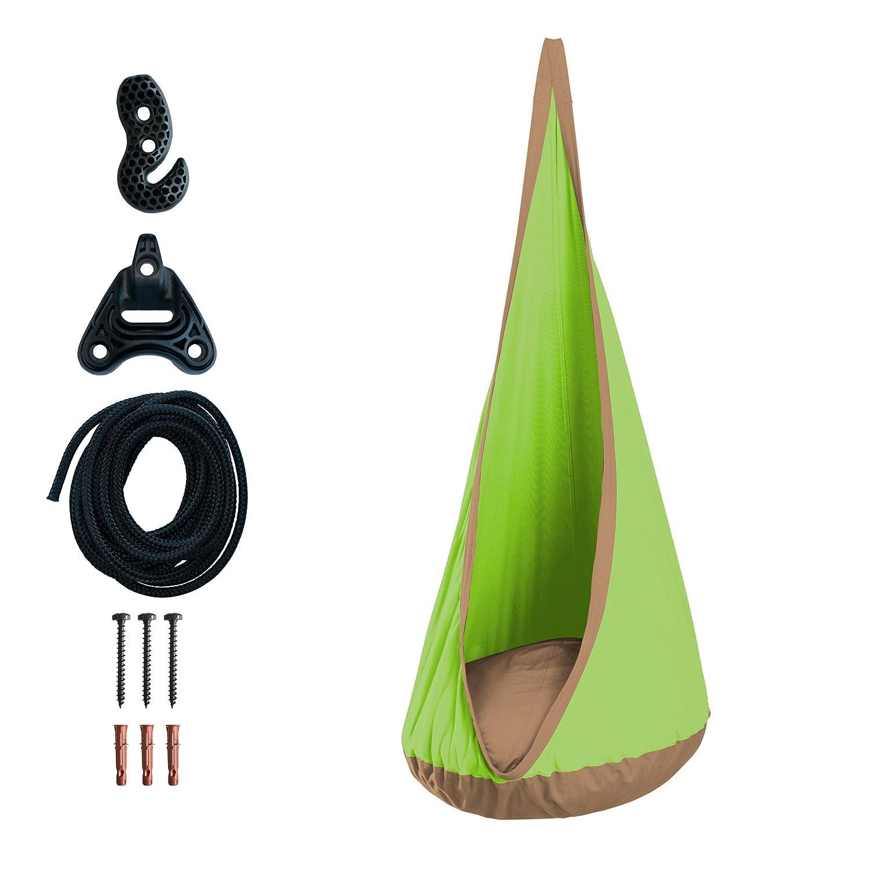 La Siesta Joki Baloo - Tana pensile bambini per outdoor con sistema di fissaggio incluso