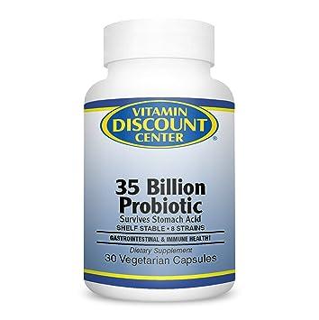 Amazon.com: Vitamina Descuento Center – PROBIOTICO 35 ...