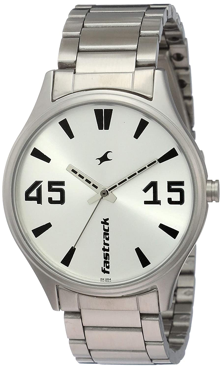 Fastrack Analog Silver Dial Men's Watch-3229SM03 / 3229SM03