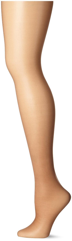 961ce70d9 Hanes Silk Reflections Women s Ultra Sheer Run Resist Control Top at Amazon  Women s Clothing store