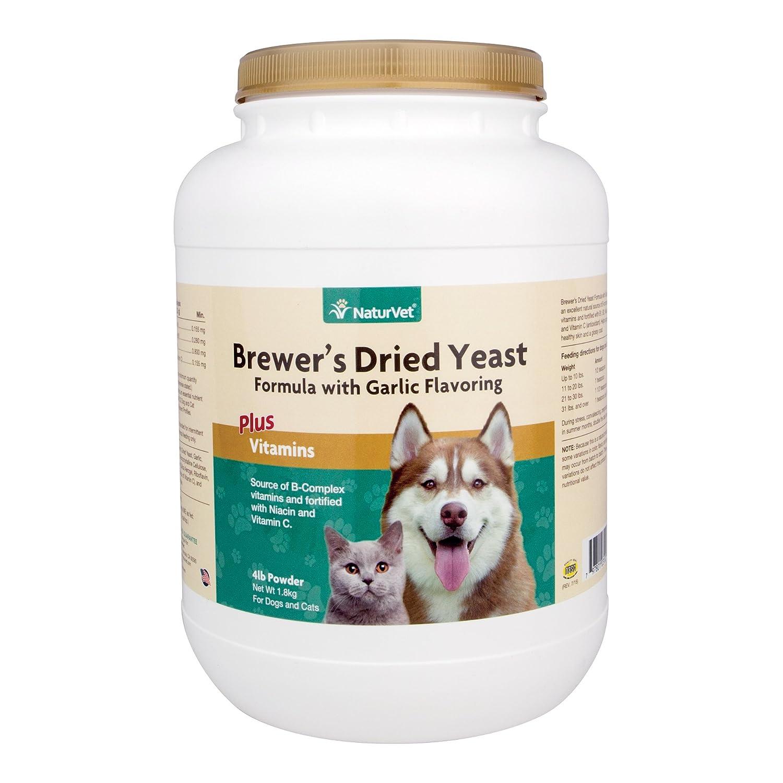 NaturVet Brewer's Yeast FormulaGarlic Flavor- 4lbs