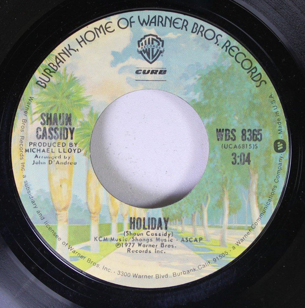 Shaun Cassidy 45 RPM Holiday / Da Doo Ron Ron: Shaun Cassidy ...