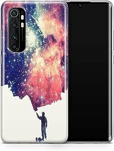 Covery Cases Silicon Back Cover For Xiaomi Mi Note 10 Lite - Multi Color , 2725609610914
