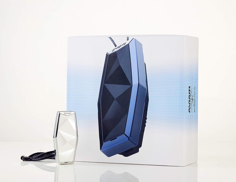 Aviair Travo Pur Portable Air Purifier Wearable Negative Air  Ionizer in Black