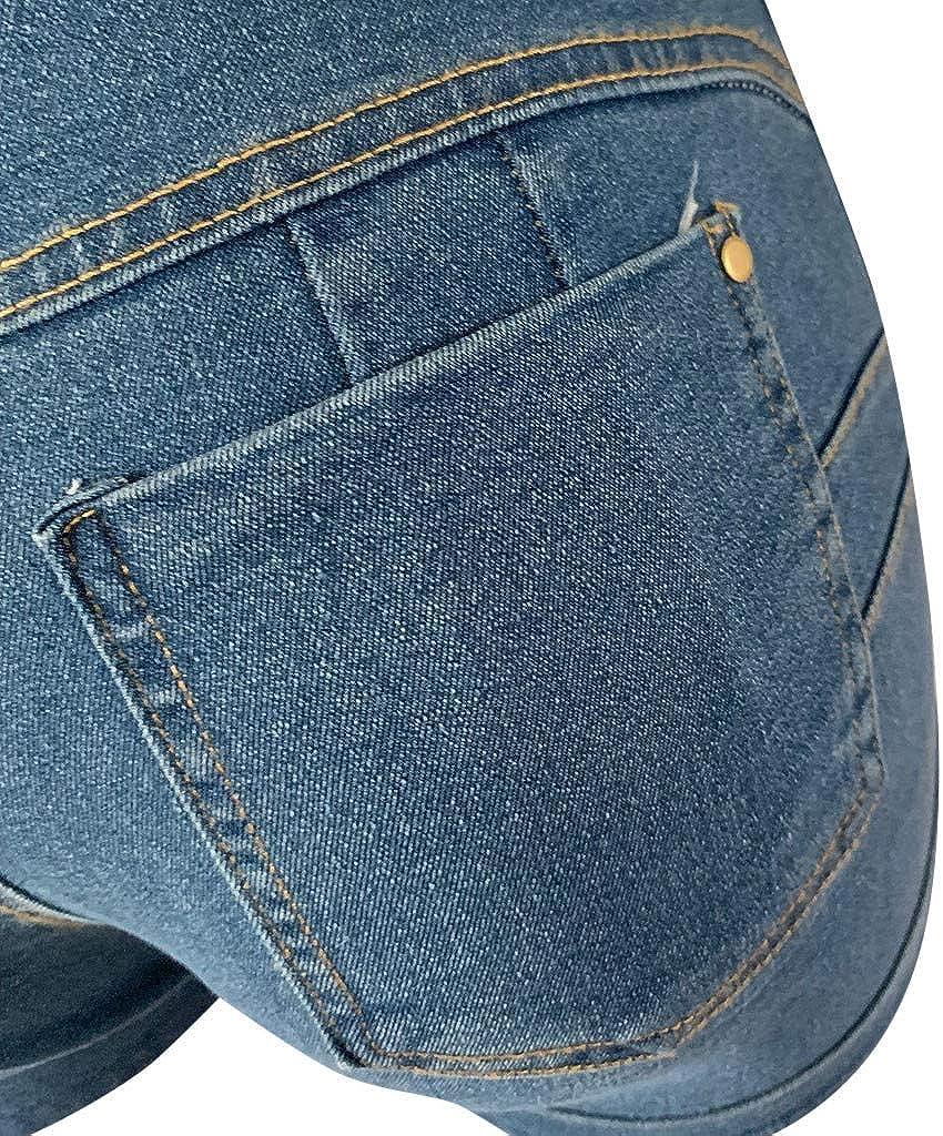 TTMall Pantaloni Donna Corti Estate Shorts Mini Shorts di Jeans Pantaloncini di Stoffa Jeans Denim Beach Minigonna A Vita Bassa Pantaloncini Corti da Donna Stretto