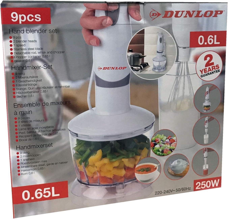 Dunlop 871125206767 de licuadora de mano Set, plástico, color ...