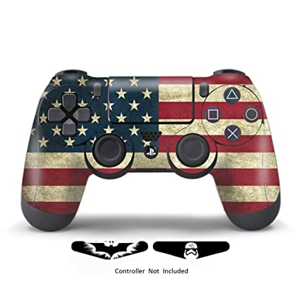 Video Games & Consoles Decals Skin Cover Sticker Vinyl Playstation 4 Ps4 Controller Remote Anti Scratch