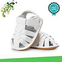 Zapatos de Bebé, Morbuy Unisexo Zapatos Bebe Primeros Pasos Verano Recién nacido 0-18 Mes Bebé Casual Verano Zapatos…