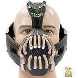Bane Mask Costume Props TDKR Full Adult Size - New V2 Version Xcoser