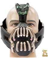 Bane Mask and Batman Bat Darts Replica Update Cosplay Prop for The Dark Knight Rises Accessory Xcoser