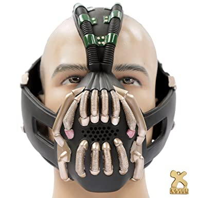 Bane Mask Replica Bronze Version Adult Size for Batman the Dark Knight Rises Xcoser  sc 1 st  Amazon.com : bane costume adult  - Germanpascual.Com