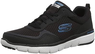 315fa3816485dc Skechers Men s Flex Advantage 3.0 Trainers  Amazon.co.uk  Shoes   Bags