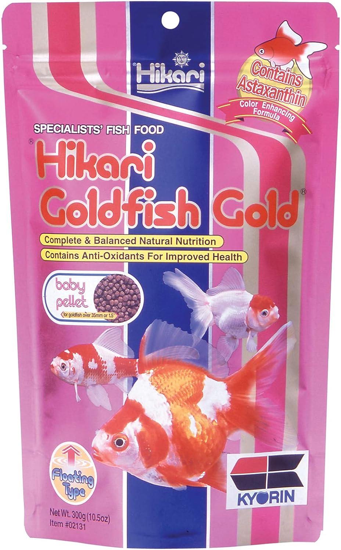 Hikari Goldfish Gold Fish Food for Goldfish and Baby Koi