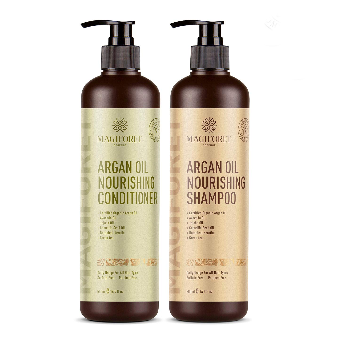 Magiforet Argan Oil Shampoo and Conditioner Set