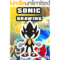 How to draw Sonic - Amazing drawing book tutorial