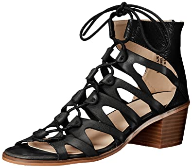 ea607ca3a9a95 Groove Women s Lauren Dress Sandal Black 6.5 ...