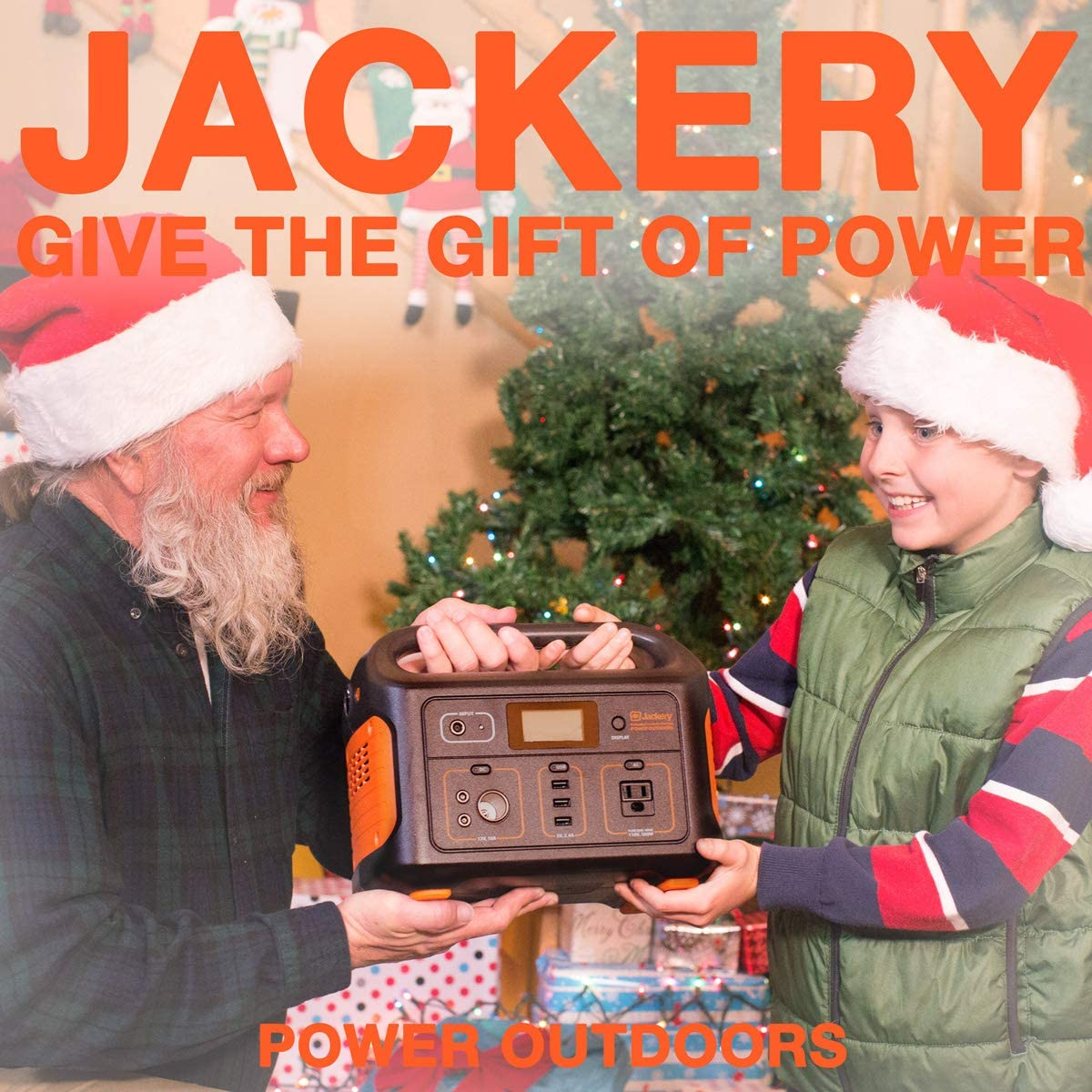 Jackery Portable Power Station Explorer 500, 518Wh Outdoor Mobile Lithium Battery Pack with 110V 500W AC Outlet, Solar-Ready Generator Solar Panel Optional RV Battery CPAP Power Outage Emergency Kit