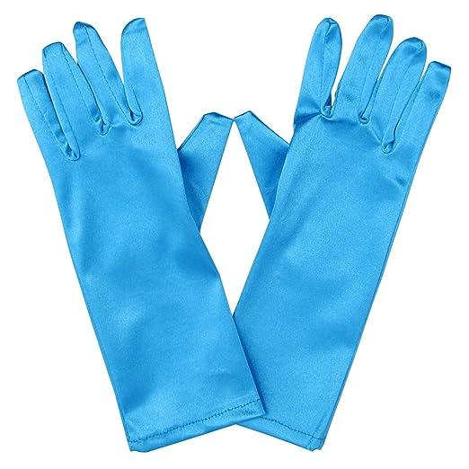 e93a3a1aec7d4 Amazon.com  So Sydney Kids Long Dress-Up Princess Costume Gloves ...