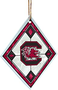 NCAA South Carolina Fighting Gamecocks Art Glass Ornament
