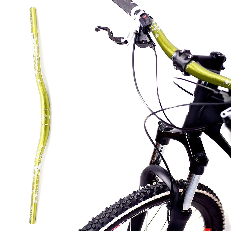 Manillar para Bicicleta de Monta/ño Hecho de Aluminio Modelo de Telara/ño 780mm Amarillo