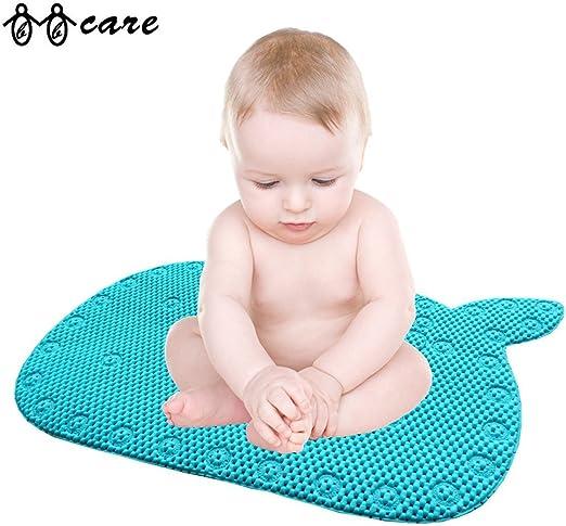 Bbcare Blue Colored Non Slip Bath Mat Baby