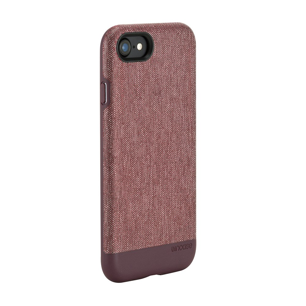 49cb0bc67 Amazon.com  Incase Textured Snap for iPhone 8   iPhone 7 - Heather Deep Red   Cell Phones   Accessories