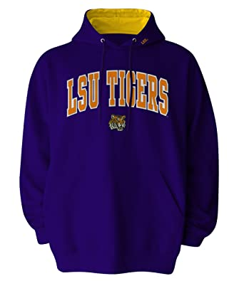 Amazon.com : NCAA Men's LSU Tigers Hooded Sweatshirt (Purple ...
