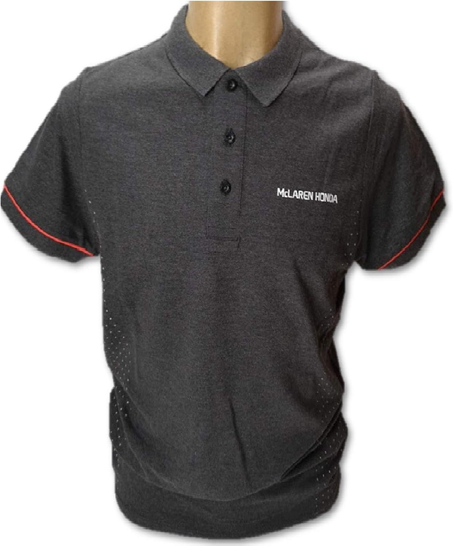 McLaren Honda F1 Team - Polo para Hombre, Color Gris Oscuro ...