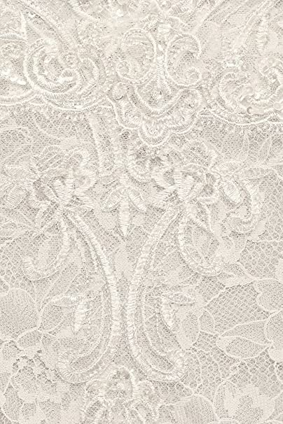 c53ab905b864f Tiered Lace Mermaid Wedding Dress with Beading Style MS251175, Solid Ivory,  2 at Amazon Women's Clothing store:
