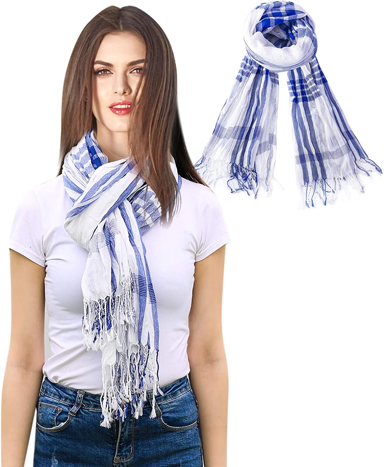 Scarf Soft Scarf Shawl Long...