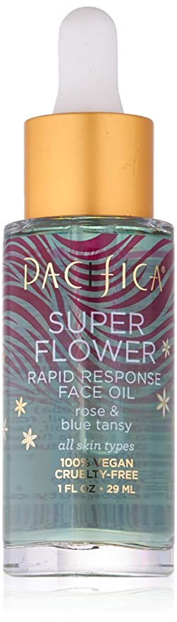 Pacifica Beauty Super Flower Rapid Response Rose Face Oil