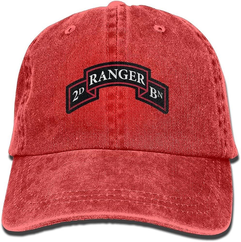 Ranger 3rd Battalion Ball Cap Beige One Size Fits Most