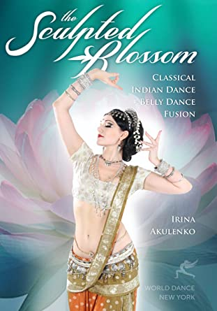 Indian dance fusion dress style