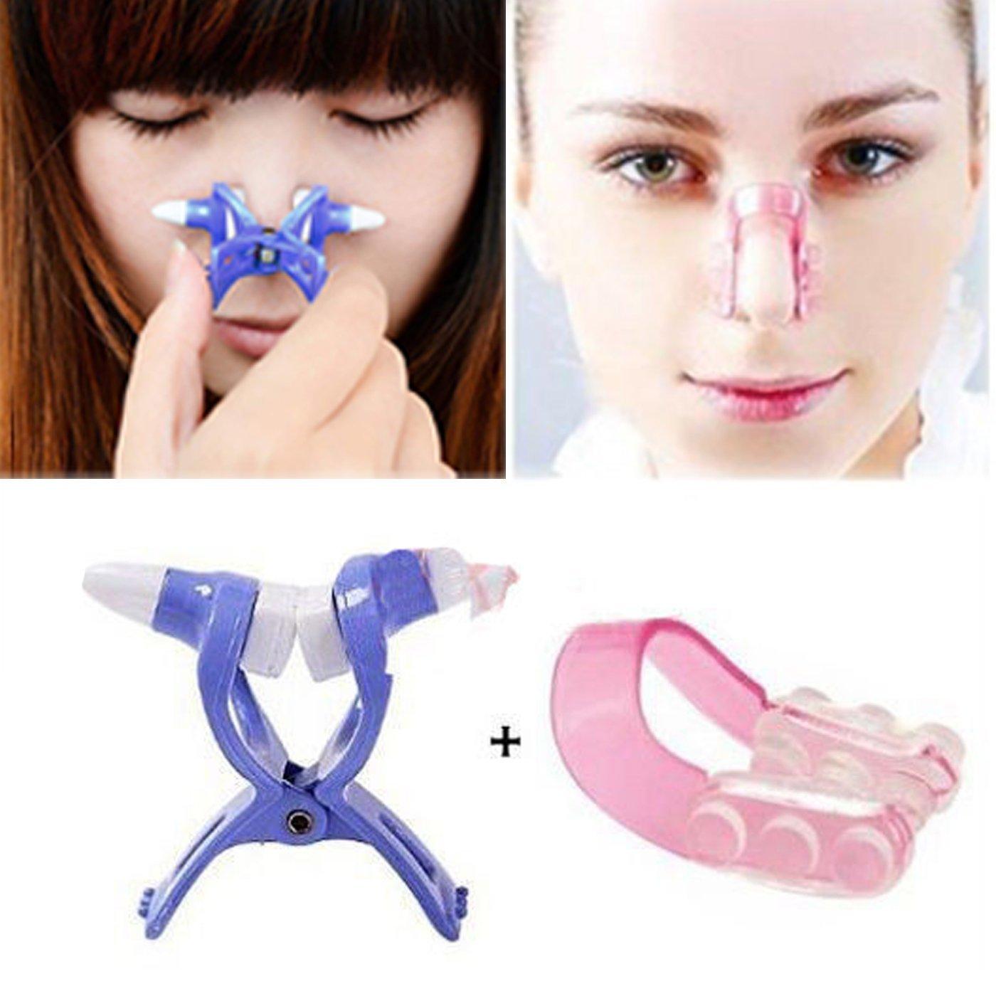 Nasal Bone Remodeling Essence Nose Rise Heighten Up Noseup Pemancung Hidung Luckkyy 2 Piece Shaping Beauty Kit Magic Shapper Lifting Bridge Straightening