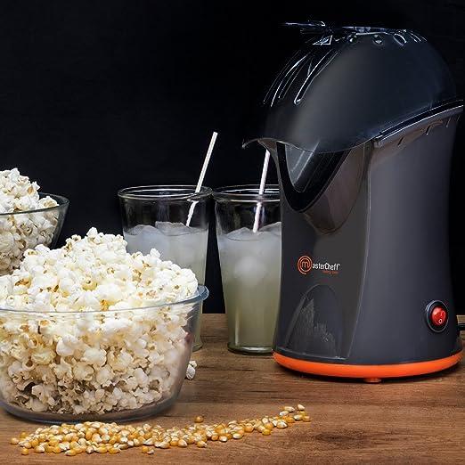 MasterCheff Palomitero, máquina de palomitas de 1200 W, Pop corn maker, My master Pop Up.: Amazon.es