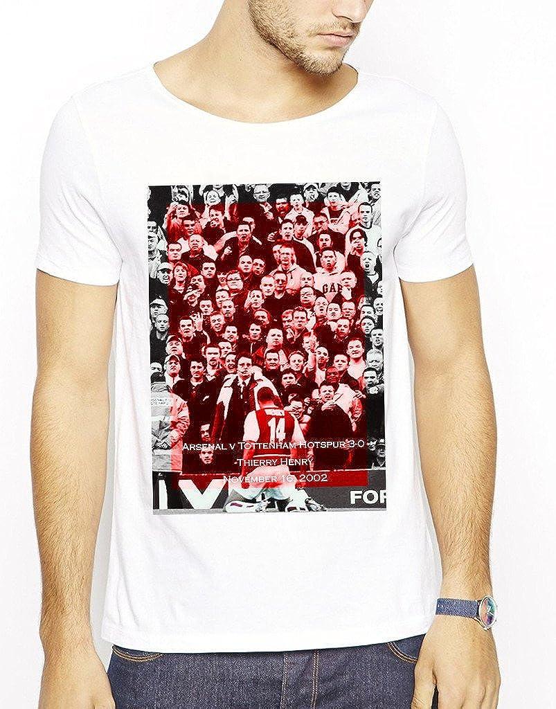 online store fde5f 9231d 642 Stitches Men's Arsenal Thierry Henry Celebration T-Shirt ...