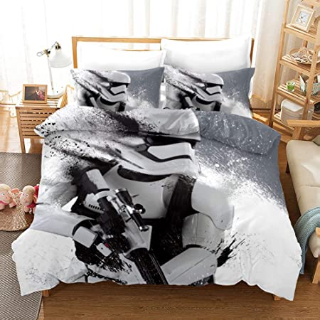 Lenzuola Matrimoniali Star Wars.Yomoco Star Wars Set Di Lenzuola Composto Da Copripiumino E
