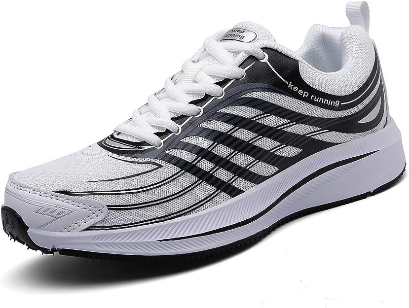 Sollomensi Sneakers Herren Damen Unisex Weiß/Schwarz