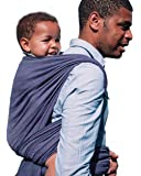 DIDYMOS Woven Wrap Baby Carrier Lisca/Herringbone Minos (Organic Cotton), Size 6