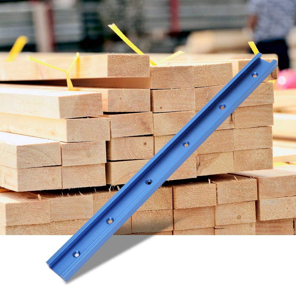 Liukouu Aluminio T-Track T-Slot Miter Herramientas de gu/ía de orugas para carpinter/ía Mesa de fresado 1000MM