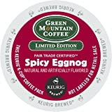 Green Mountain Coffee Spicy Eggnog K-Cups 24ct Seasonal - Limited Time Only